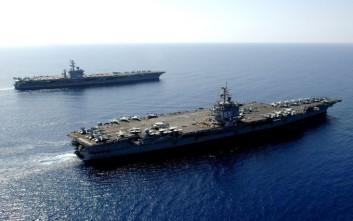Μεγάλη ναυτική δύναμη στην Κύπρο ως απάντηση στην Τουρκία