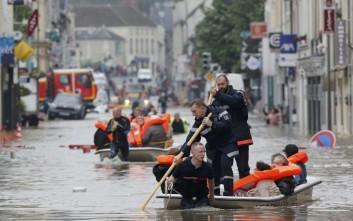 Κατακλυσμιαίες βροχές πλήττουν Γαλλία, Αυστρία και νότια Γερμανία
