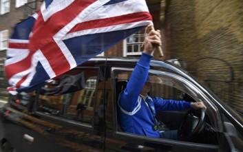 «Περισσότερο ευτυχισμένοι οι Βρετανοί μετά την απόφαση για το Brexit»