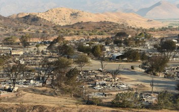 Περιορίζεται η φωτιά στην Καλιφόρνια
