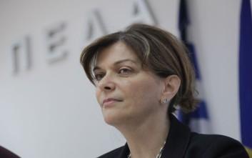 Αντωνοπούλου: Η αποκλιμάκωση της ανεργίας αναμένεται να συνεχιστεί και το 2018
