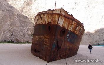 Το Ναυάγιο της Ζακύνθου καταρρέει και αποκαθίσταται