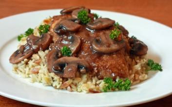 Κοτόπουλο μαρσάλα με ρύζι