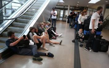 Χάος στη Σουηδία από τις ακυρώσεις πτήσεων λόγω απεργίας