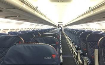 Ταξίδεψε μόνος του σε ολόκληρο αεροπλάνο και ξάφνιασε το πλήρωμα