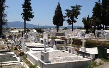 Πλιάτσικο στο νεκροταφείο Αγρινίου