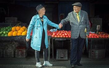 Ζευγάρι συνταξιούχων γιορτάζει την 64η επέτειό του με έναν ιδιαίτερο τρόπο
