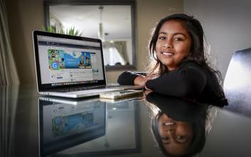 Η νεότερη σχεδιάστρια εφαρμογών που κλήθηκε από την Apple είναι 9 ετών!