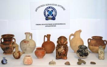 Η ΕΛ.ΑΣ. απέτρεψε την αγοραπωλησία αρχαίων αντικειμένων