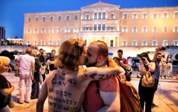 Φωτογραφίες από το Athens Pride, τη γιορτή της διαφορετικότητας