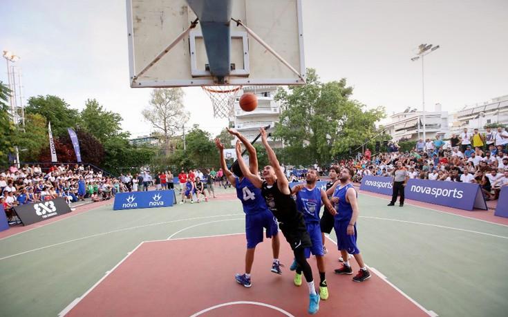 Ολοκληρώθηκε το «3rd Novasports 3X3 Φίλιππος Συρίγος Tournament»