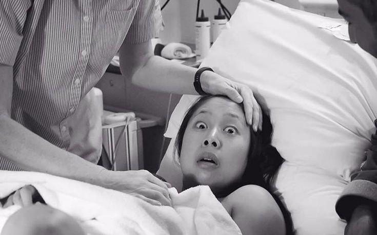 Αυτή η αντίδραση της γυναίκας την ώρα της γέννας έχει μια πολύ λογική εξήγηση