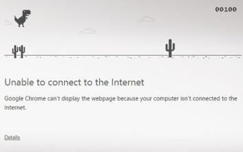 Το κρυμμένο παιχνίδι του Google Chrome όταν χάνεται η σύνδεση στο ίντερνετ