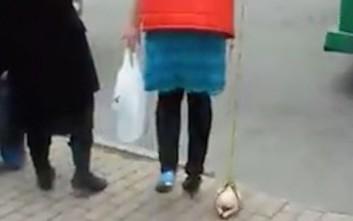 Στη Ρωσία βγάζουν βόλτα τα... κατεψυγμένα κοτόπουλα