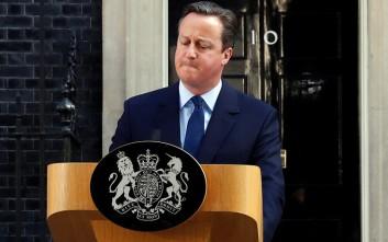 Κάμερον: Ο Τζόνσον πίστευε ότι το Brexit στο δημοψήφισμα του 2016 θα συντριβεί