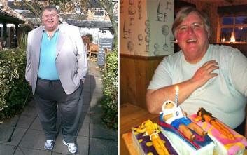 Ο μπαμπάς που έχασε 127 κιλά για ένα μοναδικό λόγο