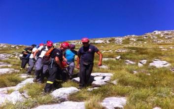 Νεκρός ο ορειβάτης που έπεσε σε δύσβατο σημείο του Ολύμπου