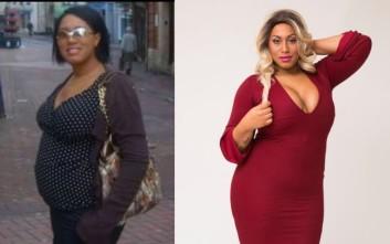 Ξόδεψε χιλιάδες λίρες για να γίνει «υβρίδιο Miss Piggy, Jessica Rabbit και Beyonce»