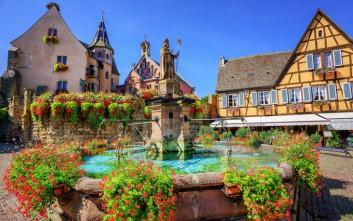 Eguisheim, ένα παραμυθένιο χωριό στη Γαλλία