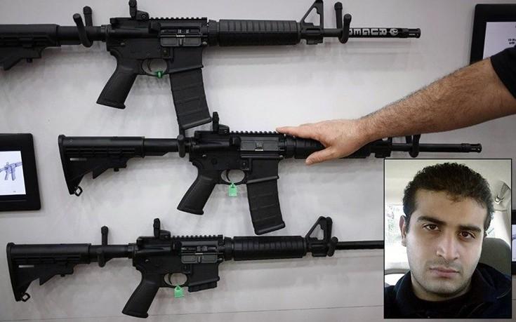 Αυτό είναι το όπλο των αμερικανών μακελάρηδων