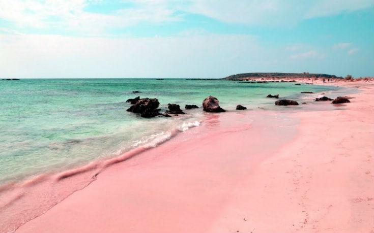Η εντυπωσιακή ροζ παραλία στο Harbour Island στις Μπαχάμες