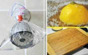 Πώς ξίδι, λεμόνι, σόδα και ασετόν μπορούν να σας λύσουν τα χέρια στο καθάρισμα