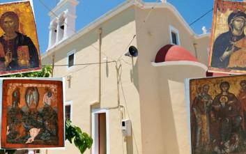 Έκλεψαν εικόνες από εκκλησία στην Ιεράπετρα