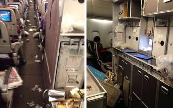 Τραυματίες και χάος σε αεροσκάφος των  Malaysia Airlines που έπεσε σε αναταράξεις