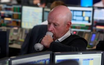 «Βουτιά» στα ευρωπαϊκά χρηματιστήρια λόγω κορονοϊού