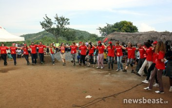 Συγκινητικές στιγμές στο αποχαιρετιστήριο πάρτι για την ActionAid Ελλάς στην Ουγκάντα