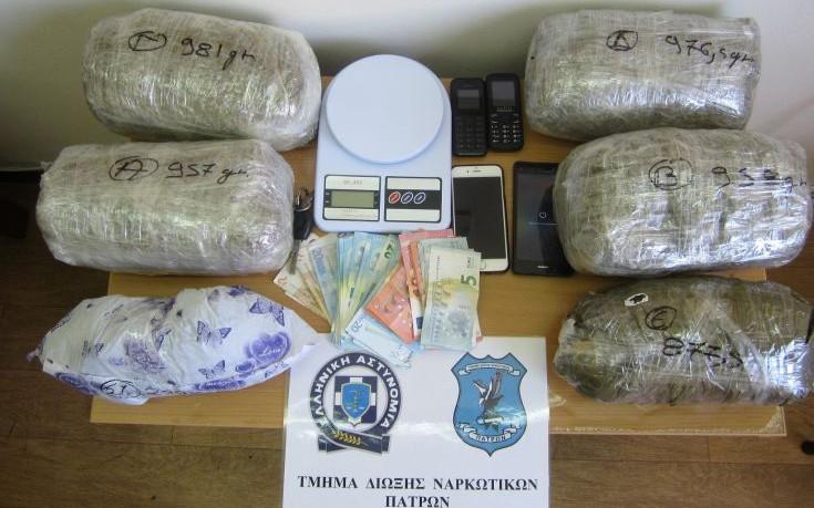 Δύο διακινητές ναρκωτικών συνελήφθησαν στην Πάτρα