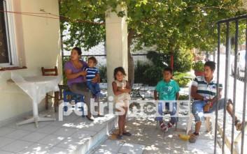Οικογένεια Ρομά ζητά βοήθεια για να πληρώσει το ρεύμα