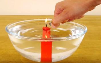 Θεαματικά επιστημονικά πειράματα που μπορείτε να κάνετε στο σπίτι