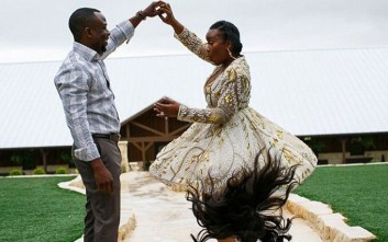 Η «ιπτάμενη» περούκα χάλασε τις φωτογραφίες της νύφης