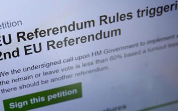 Bots υπέγραφαν το αίτημα για δεύτερο δημοψήφισμα στη Βρετανία