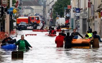 Σαρωτικές πλημμύρες με πέντε νεκρούς σε Γαλλία και Γερμανία