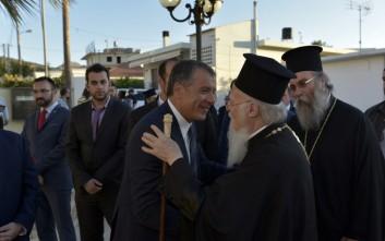 Θεοδωράκης για Βαρθολομαίο: Με τιμά με την φιλία του και δε θα μπορούσα να λείπω