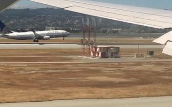 Εντυπωσιακή παράλληλη προσγείωση στο Σαν Φρανσίσκο