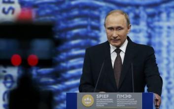 Πούτιν: Το ΝΑΤΟ προωθεί μια φρενήρη κούρσα εξοπλισμών