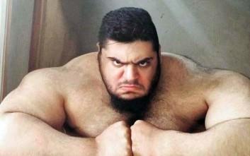 Ο Ιρανός «Hulk» που ζυγίζει 175 κιλά