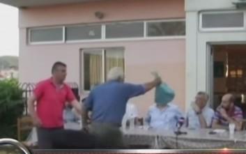 Πέταξαν σακούλα με κεφάλι αρνιού στον δήμαρχο Λέσβου