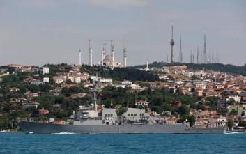 Οργή στη Μόσχα για το πολεμικό πλοίο των ΗΠΑ στη Μαύρη Θάλασσα