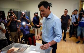 Ξανά στο τιμόνι του Σοσιαλιστικού Κόμματος Ισπανίας ο Πέδρο Σάντσεθ