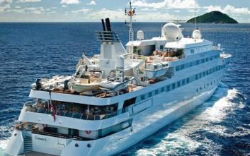Το σκάφος που κοστίζει 700.000 ευρώ την εβδομάδα