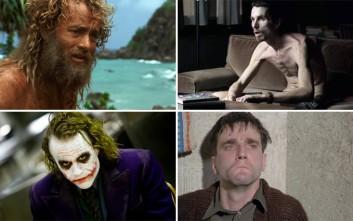 Οι απίστευτες θυσίες χολιγουντιανών ηθοποιών για να μπουν στο πετσί του ρόλου