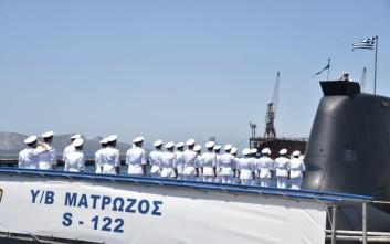 Ένταξη στον Στόλο δύο νέων υποβρυχίων κλάσεως 214