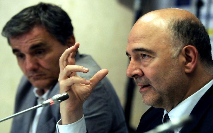 Μοσκοβισί: Είμαι αισιόδοξος ότι η Ελλάδα θα τα καταφέρει