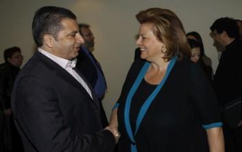 Συνάντηση με την Κατσέλη είχε ο πρόεδρος του ΙΣΑ Γ. Πατούλης