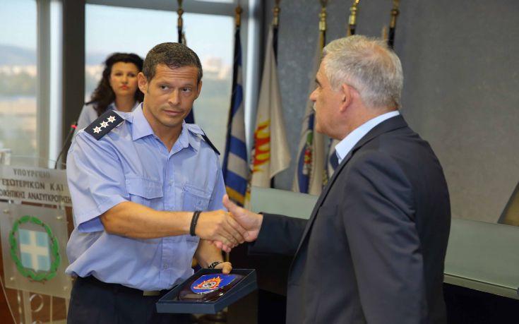 Με τους πιλότους του Canadair που έπεσε στα Δερβενοχώρια συναντήθηκε ο Τόσκας
