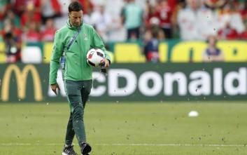 Πεταλούδες της νύχτας εισέβαλαν στον τελικό του Euro